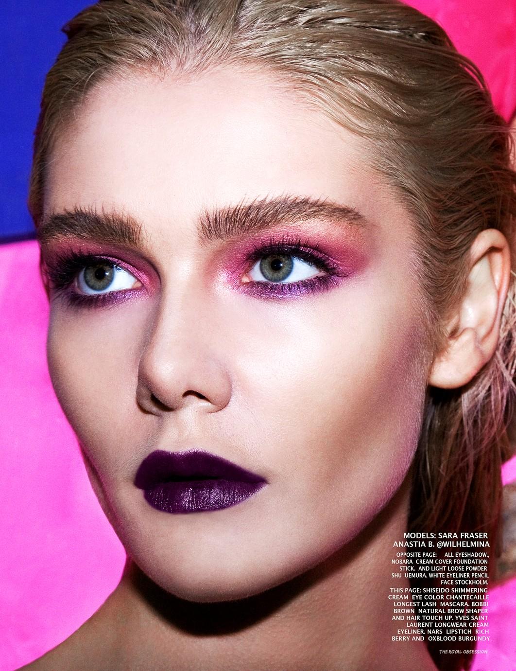 Anastasia Belotskaya make up