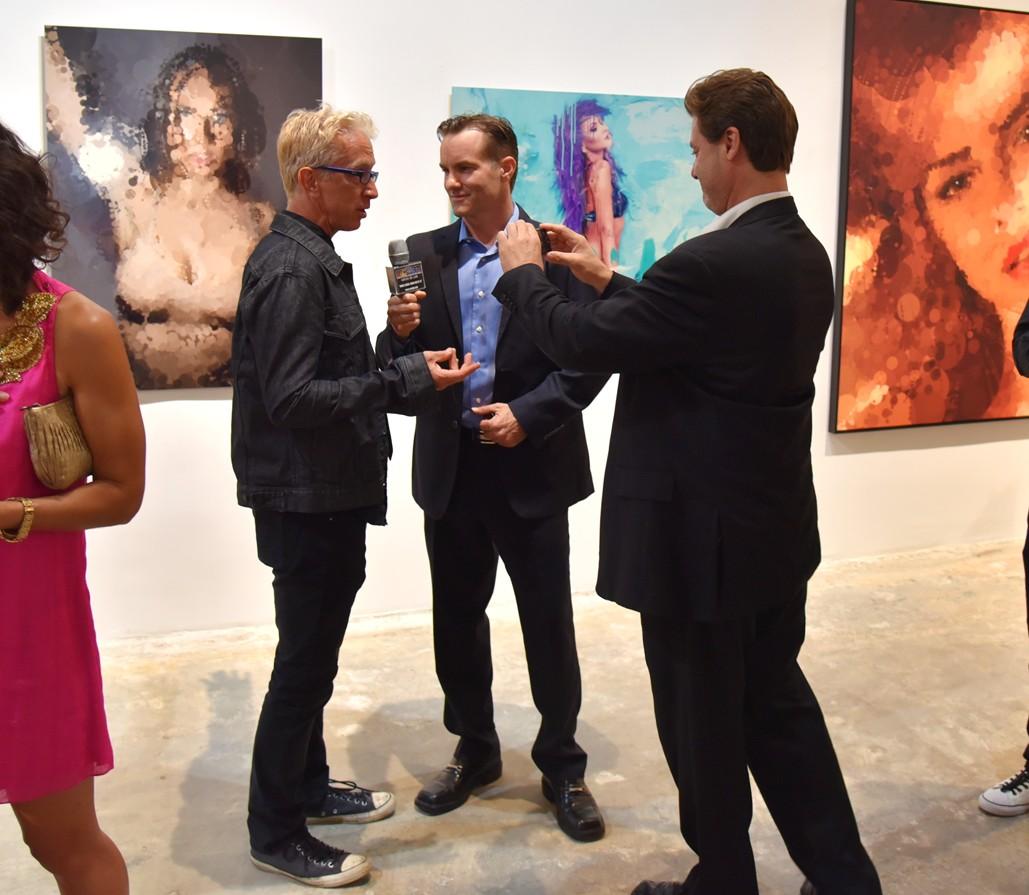 Meeting Jasmin + Andy Dick