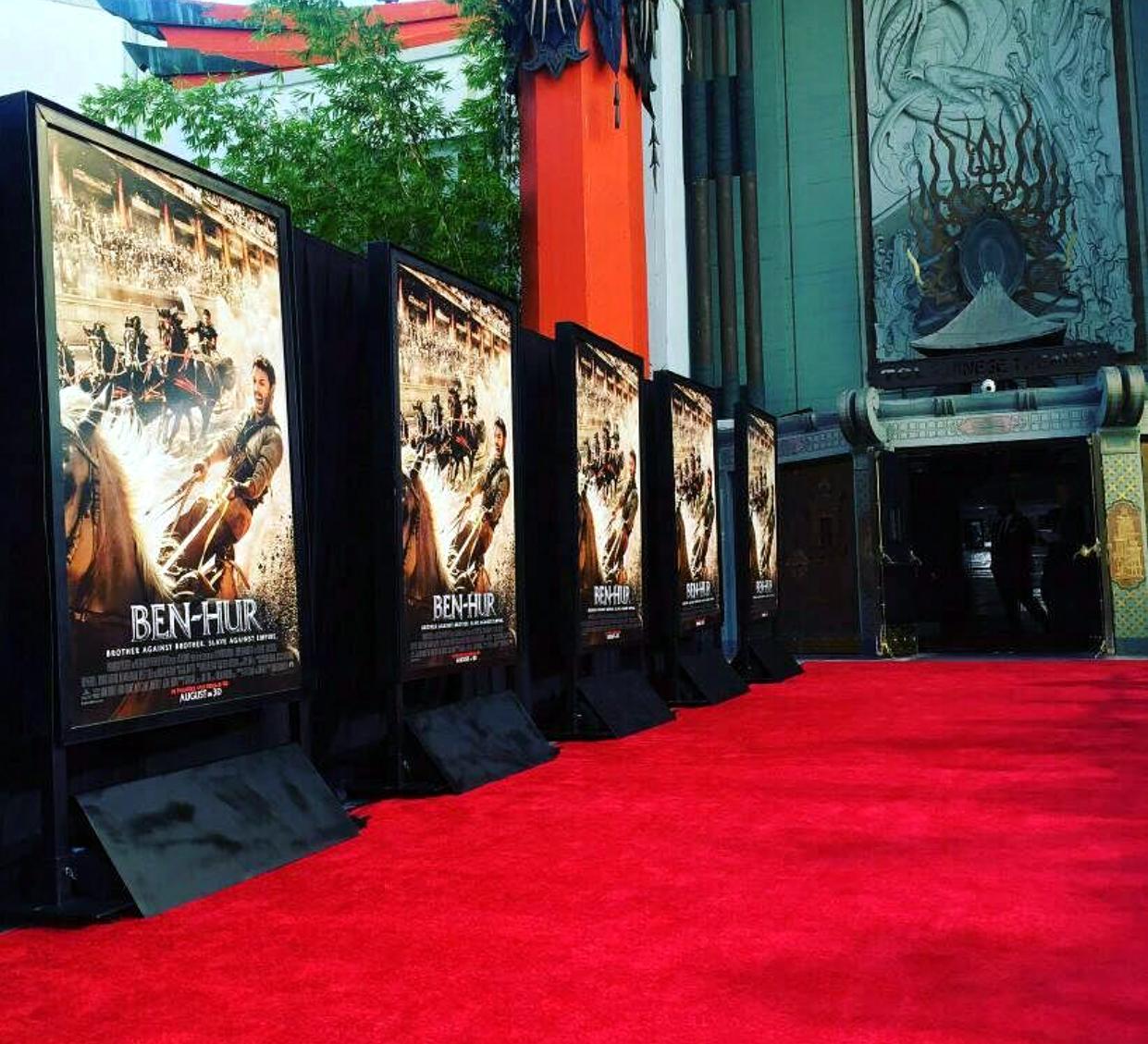 Ben Hur, movie premiere, red carpet, LA