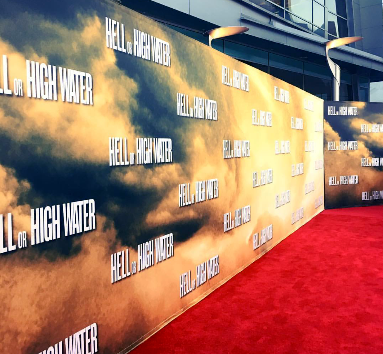 Hell or High Water, red carpet