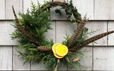 Modern Grapevine Wreath Workshop