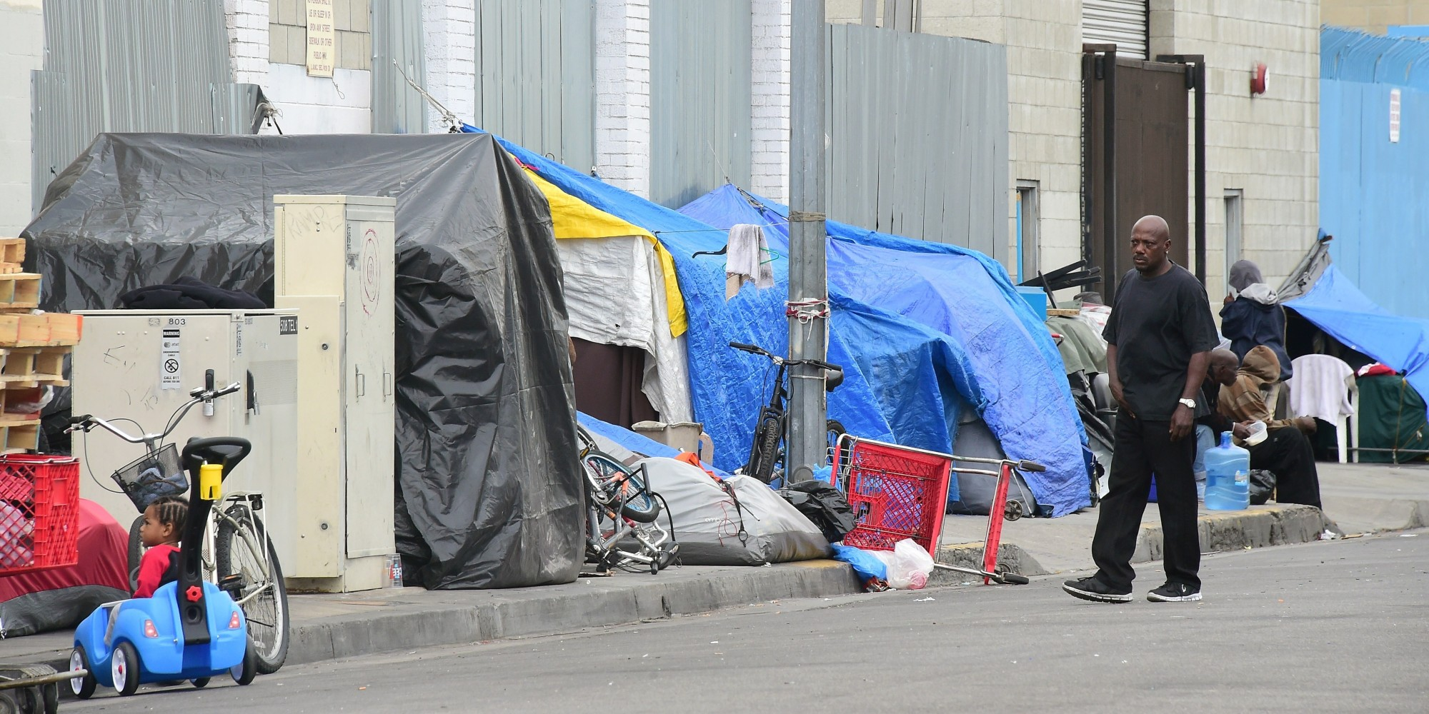 California Has Highest Rate Of Poverty In The Nation, According To U.S. Census Bureau