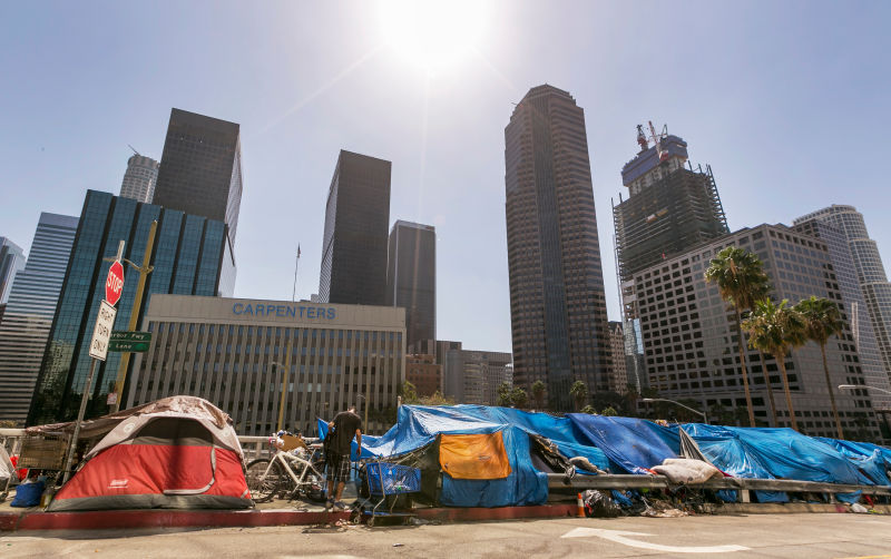 Los Angeles saw an Increase in Young Homeless Last Year