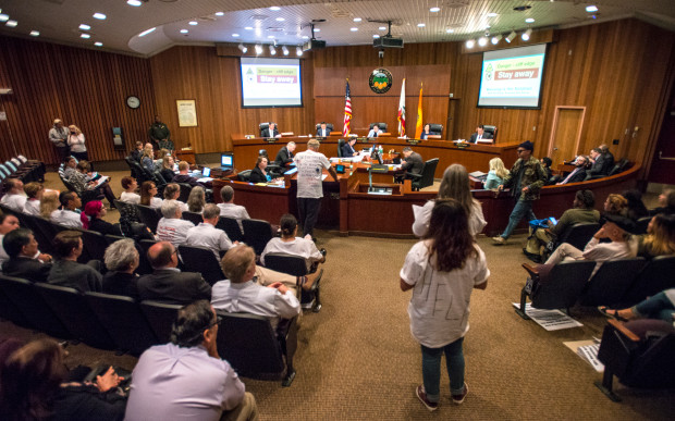 O.C. Supervisors Pressured by Homeless Advocates to Spend more Money on Housing