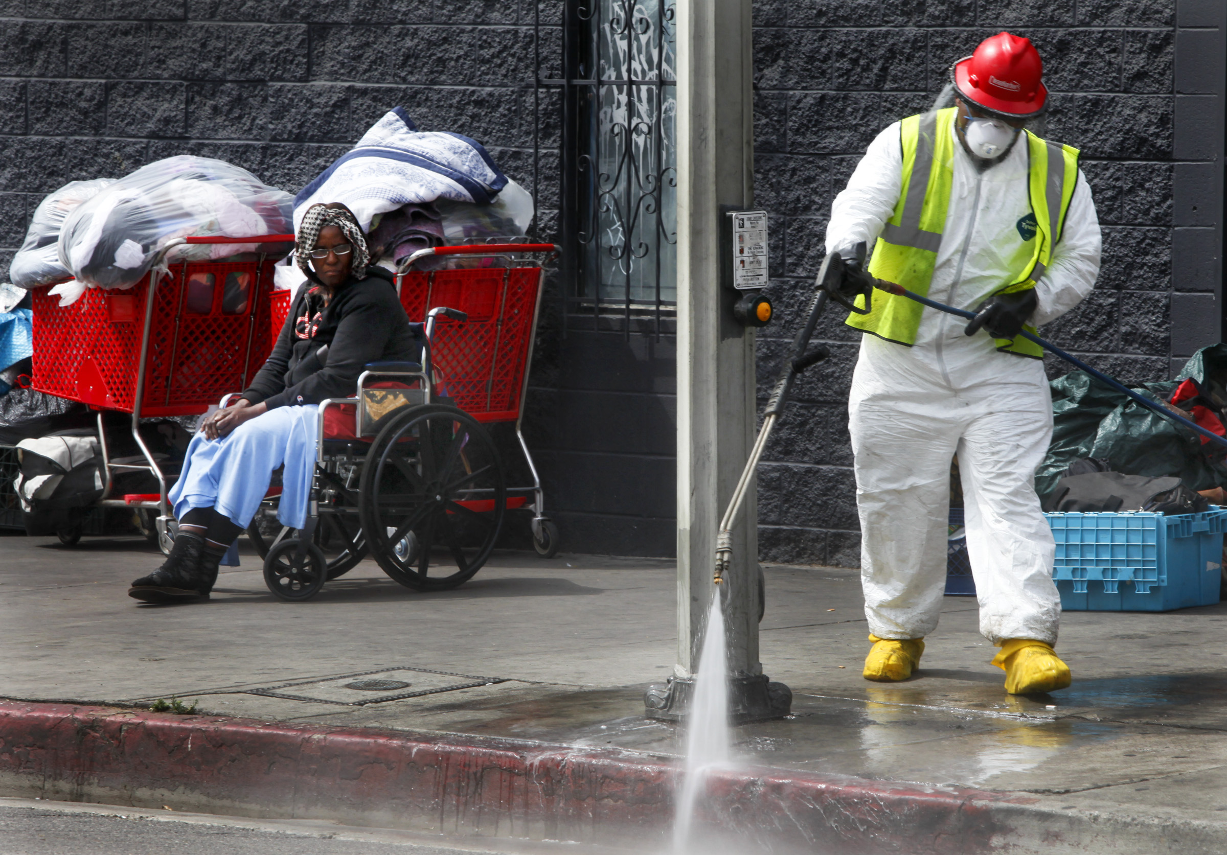 Los Angeles has spent $14 Million for Citywide Homeless Cleanup Effort