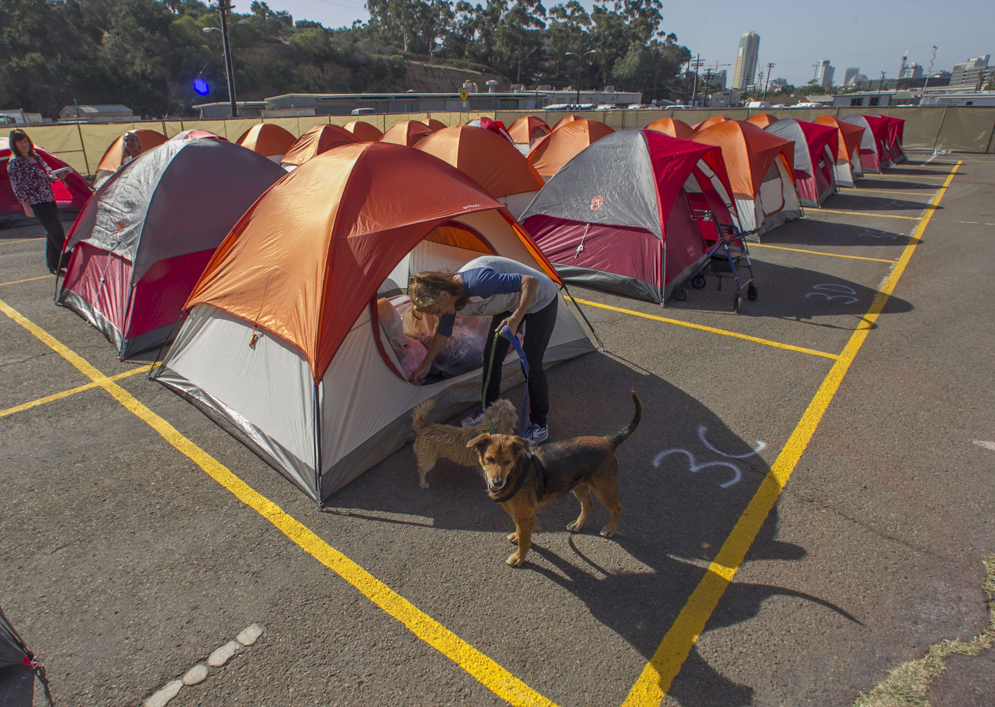San Diego Launched Campground for The Homeless