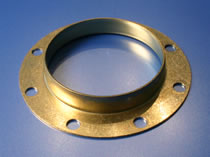 The engineers at HK Metalcraft manufacture custom gaskets.