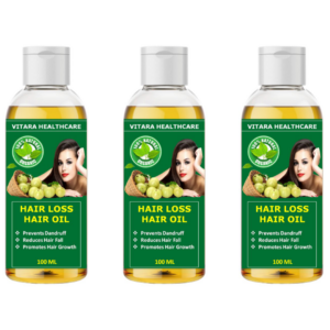 Hair loss hair oil (Pack of 3)