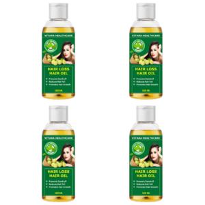 Hair loss hair oil (Pack of 4)