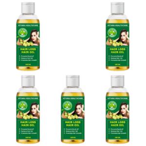 Hair loss hair oil (Pack of 5)