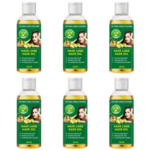 Hair loss hair oil (Pack of 6)