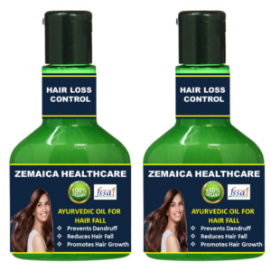 Hairloss control oil (Pack of 2)