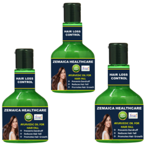 Hairloss control oil (Pack of 3)