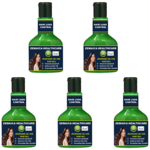 Hairloss control oil (Pack of 5)