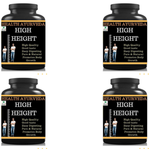 High Height (Pack of 4)