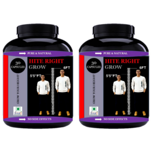 Hite right grow capsules (Pack of 2)