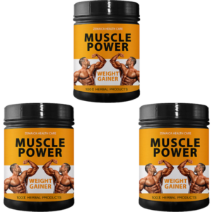 Muscle power (Pack of 3)