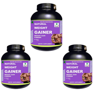 Natural weight gainer (Pack of 3)
