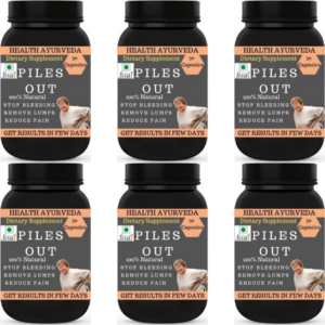 Piles out (Pack of 6)