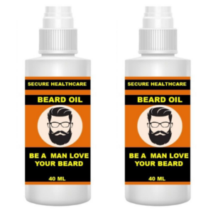 Secure healthcare Beard oil (Pack of 2)
