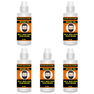 Secure healthcare Beard oil (Pack of 5)