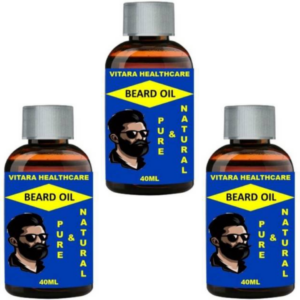 Vitara beard oil (Pack of 3)