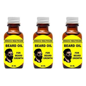 zemaica Beard oil (Pack of 3)