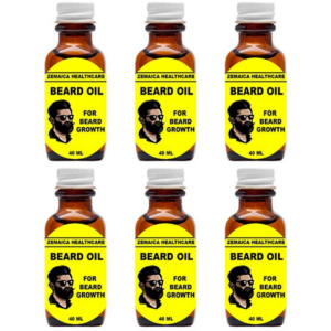zemaica Beard oil (Pack of 6)
