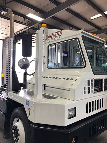 NOTS Logistics Adds New Spotter Truck