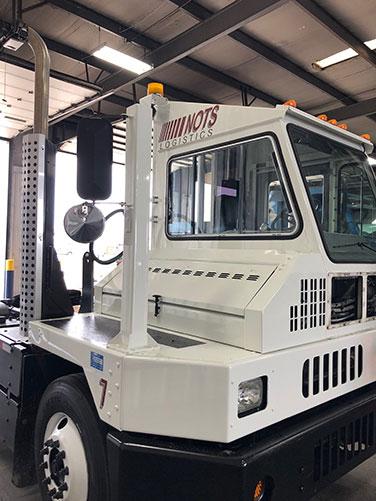 NOTS Logistics Adds New Spotter Truck