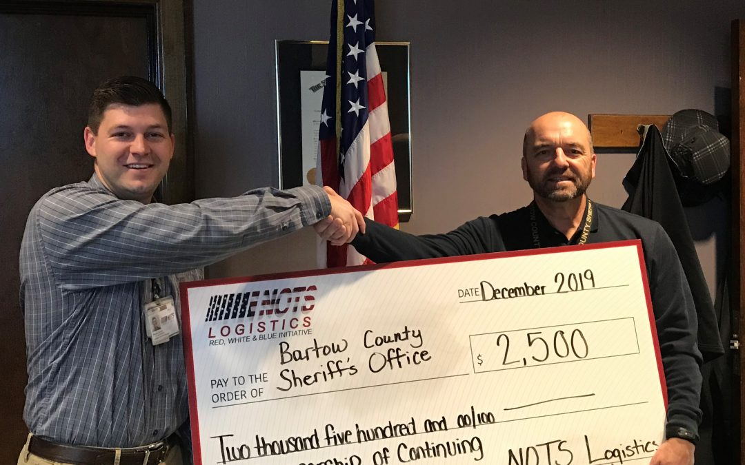 NOTS Donates to Sheriff's Office and Fire Station