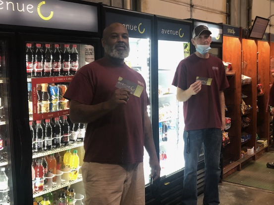 NOTS Purchased Healthy Snacks Vouchers for GA Team Members