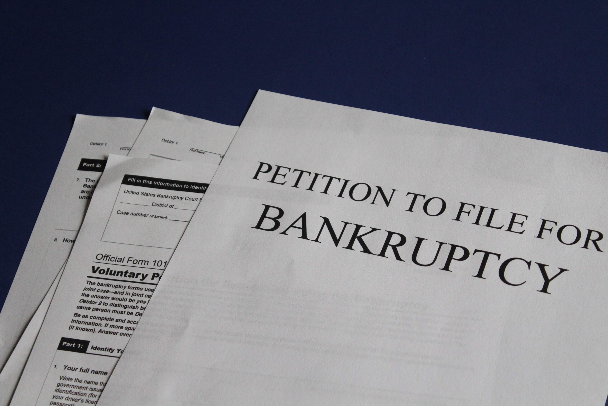Eligibility to file for Bankruptcy