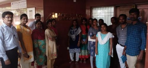 Appasamy Associates 1st Batch - Advanced Excel Corporate Training
