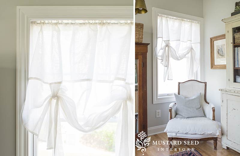 Tie Up Window Shade