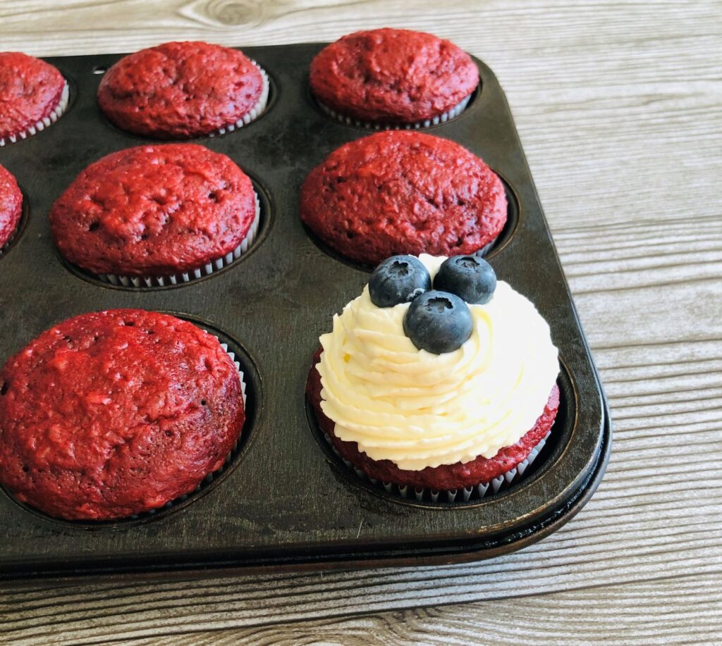4th of July Cupcake Recipe