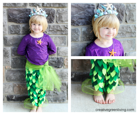 how-to-make-a-mermaid-princess-costume