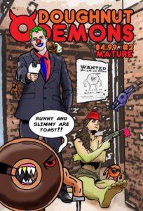 Issue 2 of Doughnut Demons