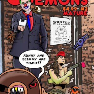 Issue 2 of Doughnut Demons