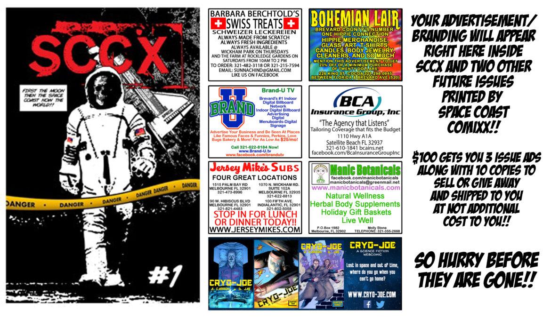 Get SCCX #1 today!!