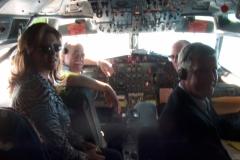 On John Catsimatidis' plane