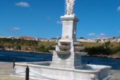 Poseidon Statue in Havana