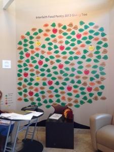 food pantry giving tree