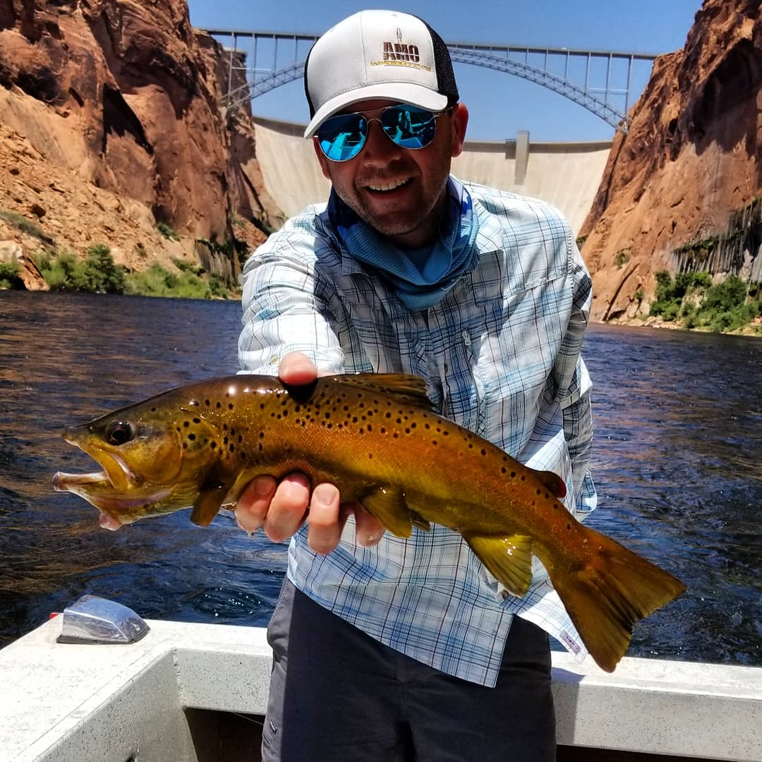 lees ferry glen danyon dam fishing pictures guide trips colorado river fish
