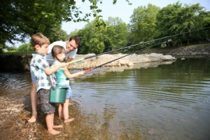 Children and Fishing