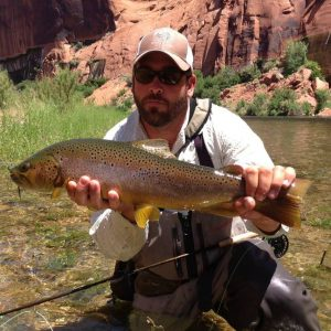 lees ferry fishing guide marble canyon outfitters lees ferry guided fishing trips dale gauthier