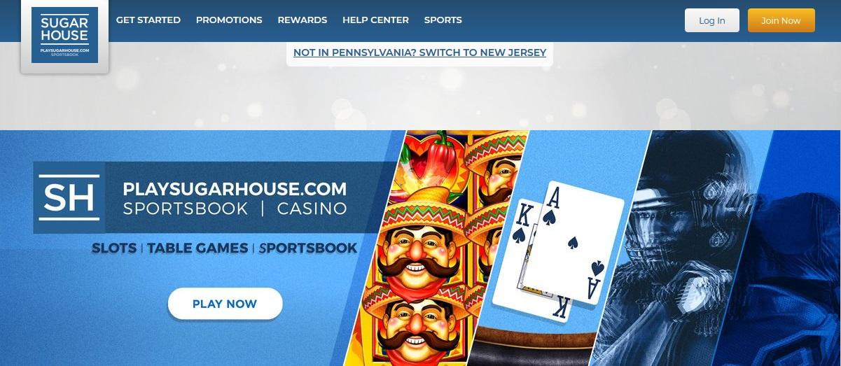 PlaySugarhouse Online Casino