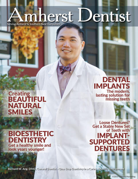 Amherst Dentist Magazine Cover