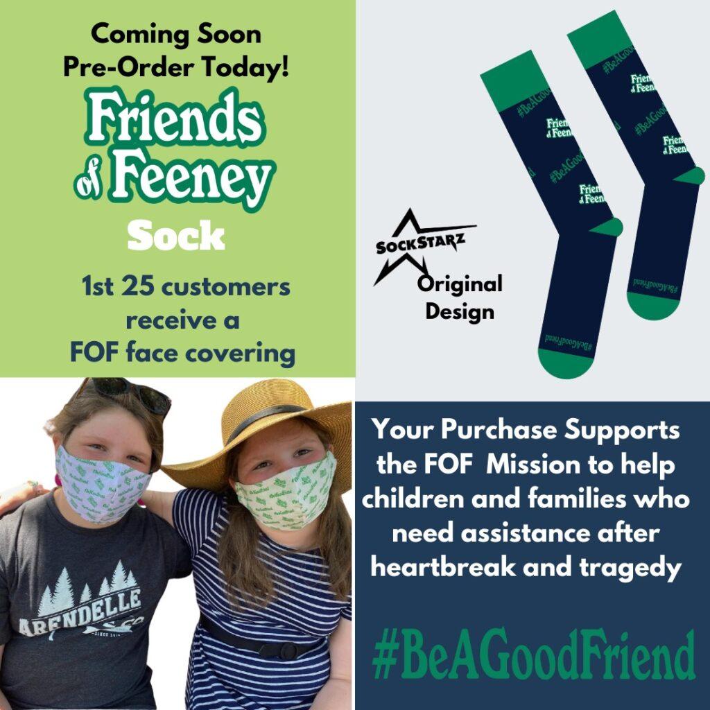 Friends Of Feeney Socks