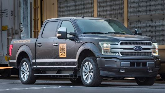 Ford targets Tesla with its new electric truck claim